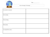 Snowglobe Planning Page