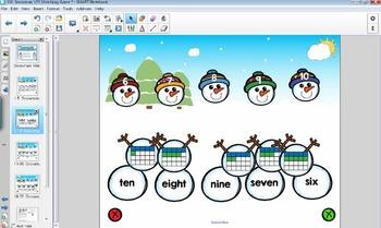 Snowman 1-2-3 Matching Puzzles {Winter Activities}