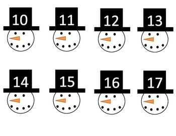 Snowman 10 groups