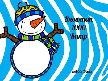 Snowman 1000 Bump