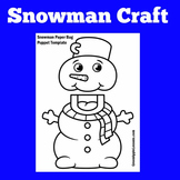 Snowman Craft | Snowman Craftivity | Winter Craft