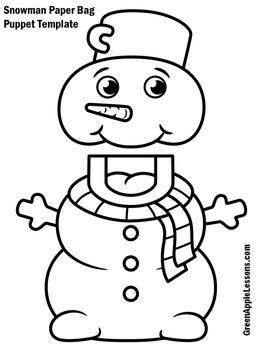 Snowman Craft   Snowman Craftivity   Winter Craft