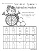 Snowman: 2 Digit Addition / Subtraction Spinners