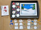 Snowman Activities:  Building Shape Snowmen