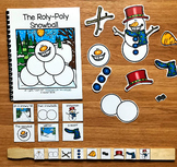 "Snowman Adapted Book--""The Roly-Poly Snowball"""