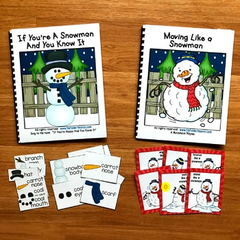 """Snowman Adapted Song Book--""""If You're a Snowman and You Know It"""""""