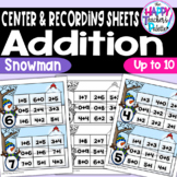 Snowman Add and Cover Up to 10 ~Perfect for Mini-Erasers!~