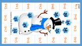 Snowman Adding 9  (Same as Adding 10-1)