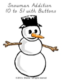 Snowman Addition (0 to 5) with Buttons