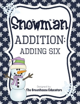 Snowman Addition: Adding On (Fact Family Six)