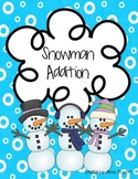 Snowman Addition Board Game