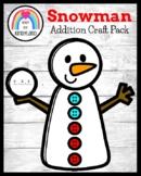 Snowman Addition Craft (Winter, January)