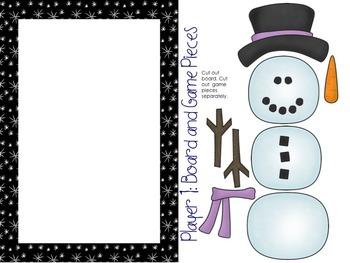 Snowman Addition Hangman