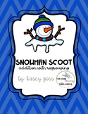 Snowman Addition with Regrouping Scoot