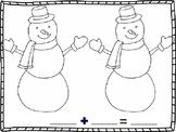 Snowman Additon Mat
