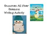 Snowman All Year Activity