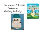 Snowman All Year Activity