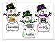 Snowman Alphabet Cards