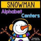 Snowman Alphabet Centers