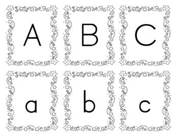 Snowman Alphabet Recognition Game