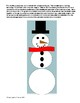 Snowman Area & Circumference Perimeter Composite Shapes Circles