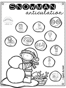 Snowman Articulation