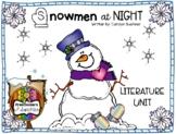 Snowmen At Night Literature Unit