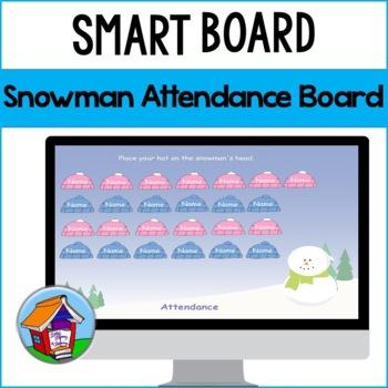 Snowman Attendance Board