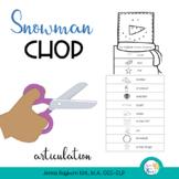 Snowman Beard Chop: Articulation Craft
