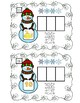 Snowman Beginning, Ending, or CVC Word Spell Center