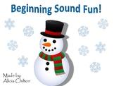 Snowman Beginning Sound Fun
