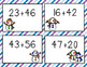 Snowman Bingo: 2-digit addition without regrouping