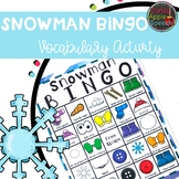 Snowman Bingo: A Winter Vocabulary Game