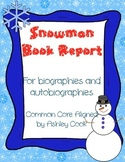 Snowman Biography Book Report