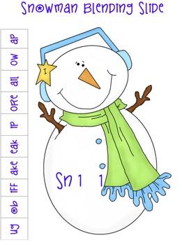 Snowman Blending Strip