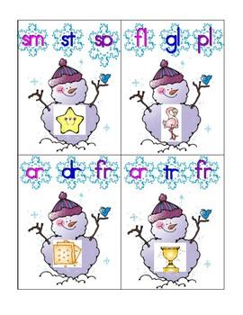 Snowman Blends
