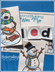 Snowman Blends and Digraphs Word Work