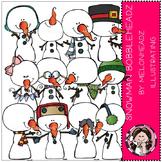 Snowman Bobbleheadz by Melonheadz