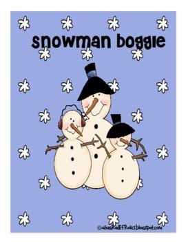 Snowman Boggle