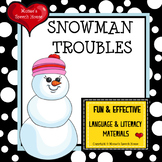 Snowman Early Reader Winter