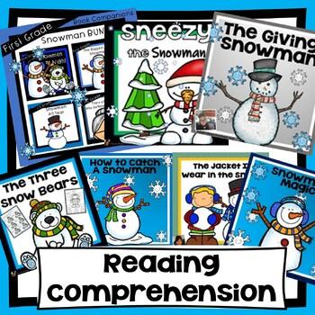 Snowman Book Companion Bundle