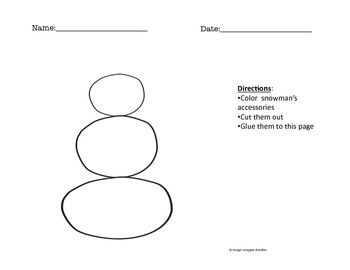 Do you want to build a snowman? Activity and Guide