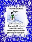 Snowman Christmas Book Report
