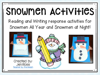 Snowman Books - Reading and Writing Activities