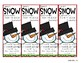 Snowman Buddies Bookmarks with Right Fit Book Guide