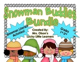 Snowman Buddies Literacy Bundle
