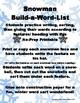 Snowman-Build-A-Word-List