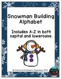 Snowman Building Alphabet! Letter and Sound Recognition Game
