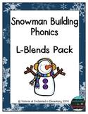 Snowman Building Phonics: L-Blends Pack