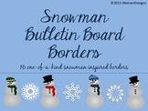 Snowman Bulletin Board Border